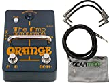 Orange AMP-DETONATOR Buffered Active ABY Stomp Box w/ Cleaning Cloth and 3 Cables