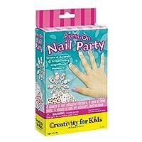 Creatividad para niños Press On Nail Party