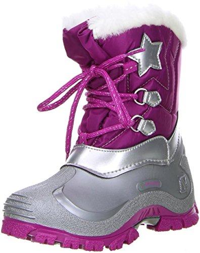 Spirale Kinder Mädchen Winterstiefel Snowboots Cadmium Nickel Blei FREI fuxia/pink, Größe:26;Farbe:Pink
