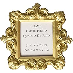 "Kate Aspen ""Royale"" Baroque Place Card/Photo Holder, Gold"