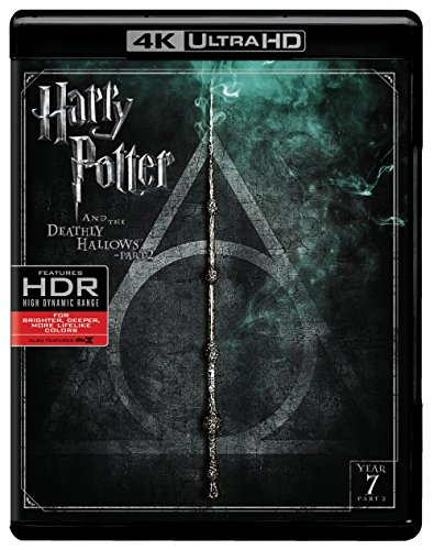 Harry Potter and the Deathly Hallows Part 2 (4K Ultra HD + Blu-ray) (Harry Potter Collection 8pk 4k Ultra Hd Digital)