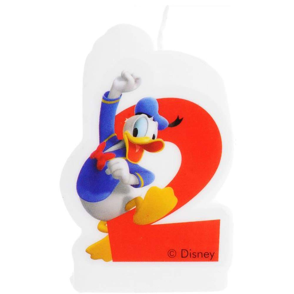 Amazon.com: DISNEY|MICKEY Vela 2 cumpleaños Mickey Disney ...