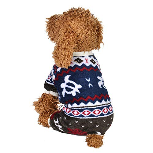 - Pet Puppy Sweater,Pet Clothes Puppy Round Neck Shirt Pet Shirt Four Legs Clothes Autumn and Winter,Pet Clothes for Small Dogs