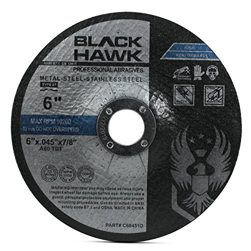 (25 Pack Black Hawk 6