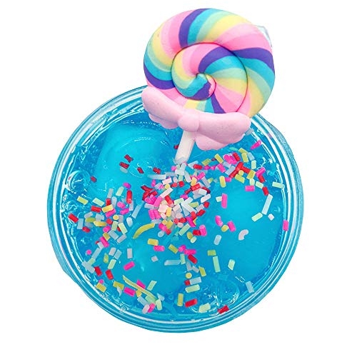 Yliquor Beautiful Lollipop Colorful Mud Mixing Cloud Slime Putty Scented Stress Kids Clay Toy ()
