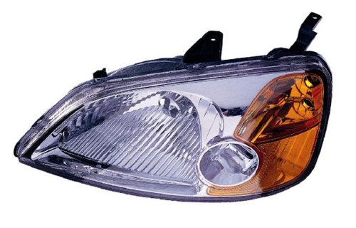 02 honda civic headlight assembly - 5