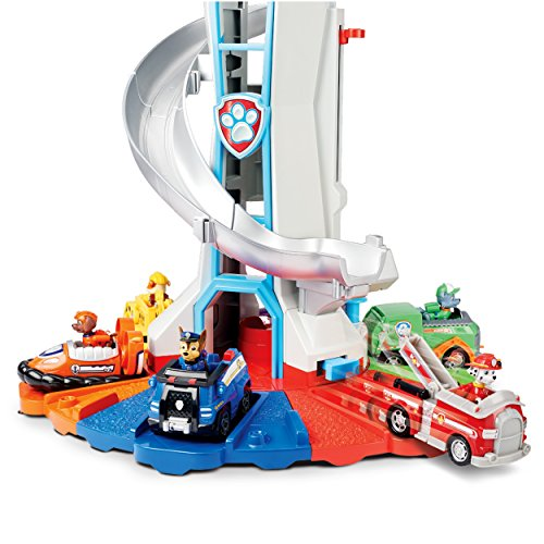 PAW Patrol My Size Lookout Tower with Exclusive Vehicle, Rotating Periscope & Lights & Sounds by Nickelodeon (Image #4)
