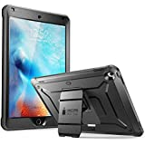 SUPCASE Unicorn Beetle Pro Series Case Designed for iPad 9.7 2018/2017, with Built-in Screen Protector & Dual Layer Full Body Rugged Protective Case for iPad 9.7 5th / 6th Generation(Black)