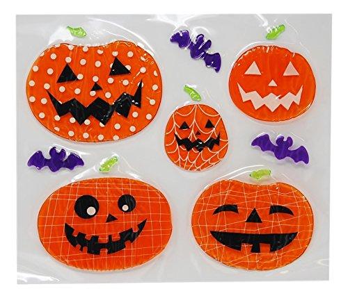 Printed Halloween Gel Clings ( 2 pack - Ghost and Pumpkins) for $<!--$9.96-->