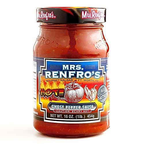 Mrs. Renfro Ghost Pepper Salsa 16 oz each (1 Item Per Order) by Mrs. Renfro's (Image #1)