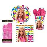 Sparkle Barbie Dessert Party Set for 8 Guests