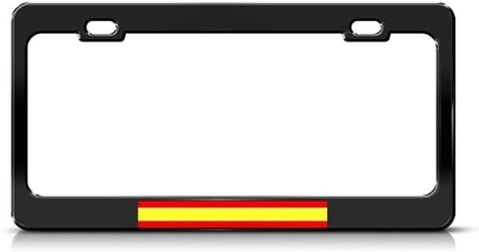ESPANA SPAIN MATADOR Metal License Plate Frame Tag Holder