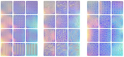 Refaxi 1ネイルアート転送シート3D装飾ステッカーマニキュア装飾装飾ツール