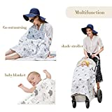 Nursing Cover, Lightweight Breathable 100% Cotton