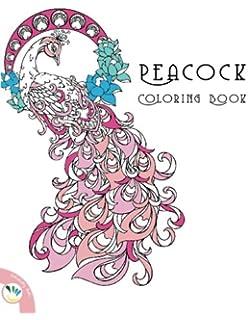 peacock coloring book - Peacock Coloring Book