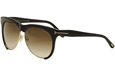 da4dd53a23 Image Unavailable. Image not available for. Color  Tom Ford Women s Leona  TF365 Sunglasses ...