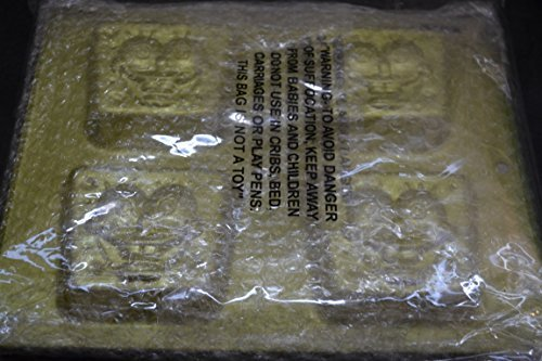 (Wilton SpongeBob Square Pants Mini Cupcake Cookie Treats Brownie Cake Pan Mold ~ 4 Cavity (2105-5131, 2003))