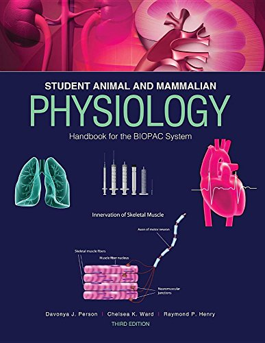 Student Animal and Mammalian Physiology Handbook for the BIOPAC System
