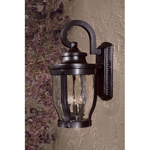 Minka Lavery Outdoor 8763-166, Merrimack Aluminum Outdoor Wall Sconce Lighting, 180 Watts, Bronze by Minka Lavery