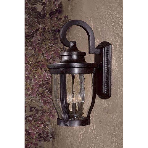 Minka Lavery Outdoor 8763-166, Merrimack Aluminum Outdoor Wall Sconce Lighting, 180 Watts, Bronze