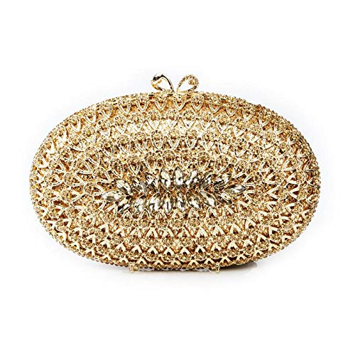 Occasion Evening for Hard Luxury Champagne Gold Silver Sparkly Gold Party Bag Diamante Case Special Handbag Womens New Ladies Clutch z67AYxwqtq