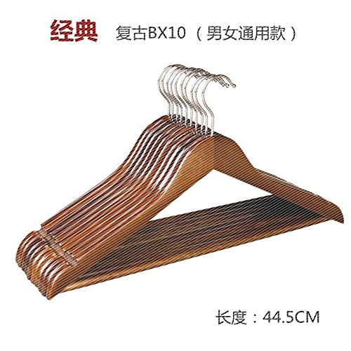 U-emember Wooden Hangers Clothes Hangers Hangers Wardrobe Wo