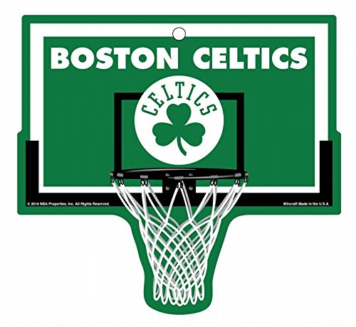 Boston Celtics Basketball Plastic Hoop Sign NBA by WinCraft