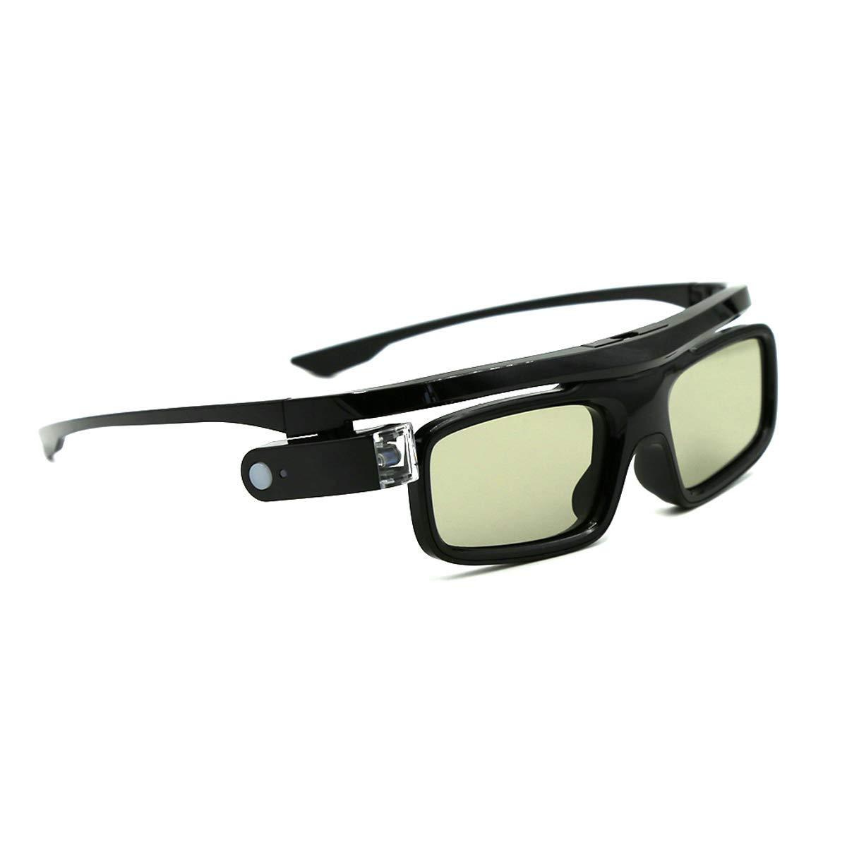 Gafas 3D, Obturador Activo Gafas Recargables para 3D DLP-Link ...