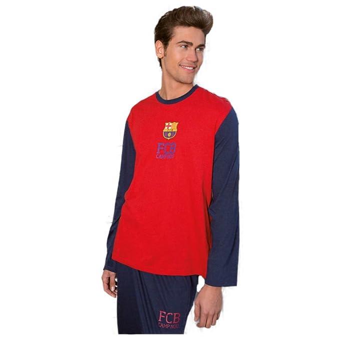 Pijama Hombre FC BARCELONA AzulGrana 2017-2018 (S)