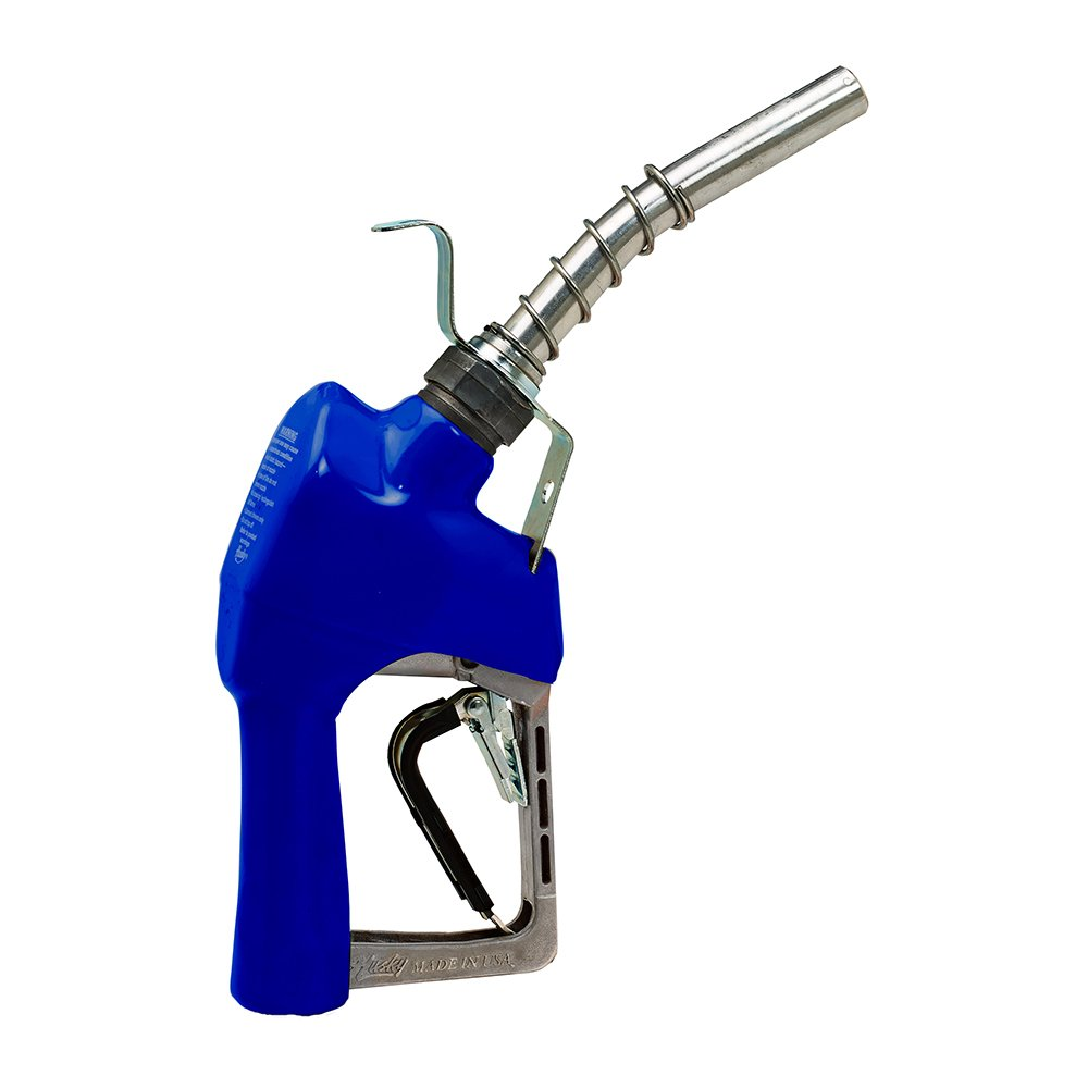Husky 337004N-01 New XFS Unleaded Nozzle with 3-Notch Hold Open Clip, Full Grip Guard and Hanging Hook