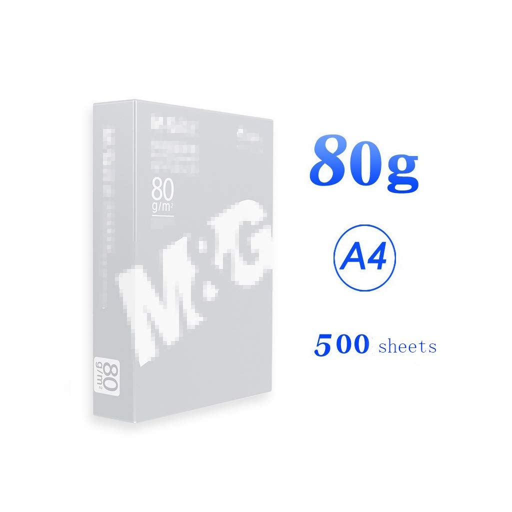 A4 Paper Printing Paper Multipurpose A4 photocopy Paper A4 Paper 70g / 80g 500 Sheets/Pack Copy Paper a4 Paper Ream (Size : C) by JXLG