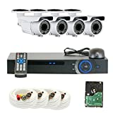 GW Security 1080P HD Over Analog (HDCVI) 4 Channel Video Security System – Four 2.0 MP Weatherproof 2.8-12mm Varifocal Zoom Bullet Cameras, 196ft IR LED Night Vision, Quick QR Code Smartphone Access Review