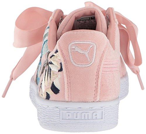 Hyper Basket Pumapuma Puma Donna Goffrè Heart Beige 366116 Peach W4WIqT