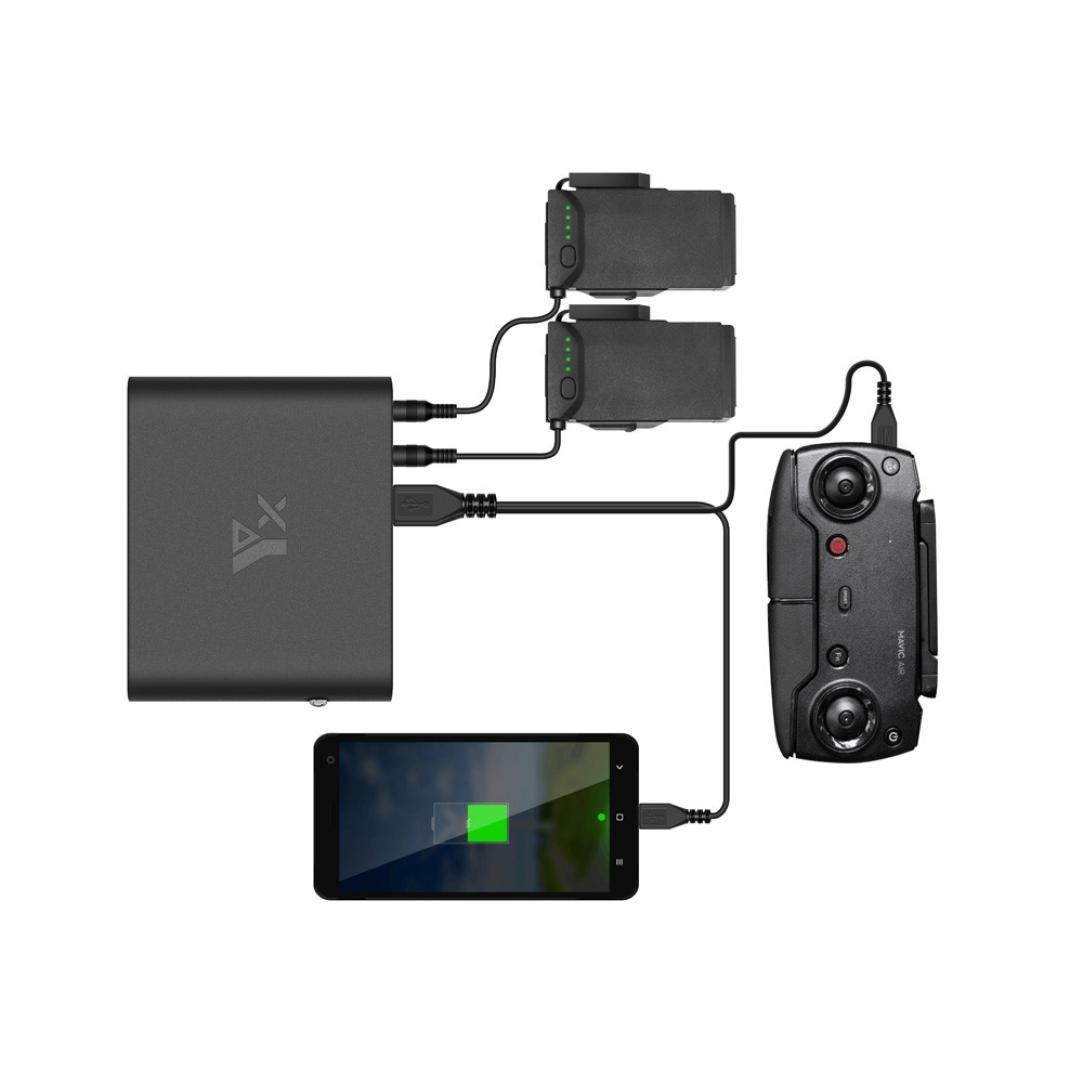 Lanspo Energienbank 3.7V 25000 mAh Schnellladung Portable Lade Lade Lade Set Für DJI Mavic AIR RC 125cee