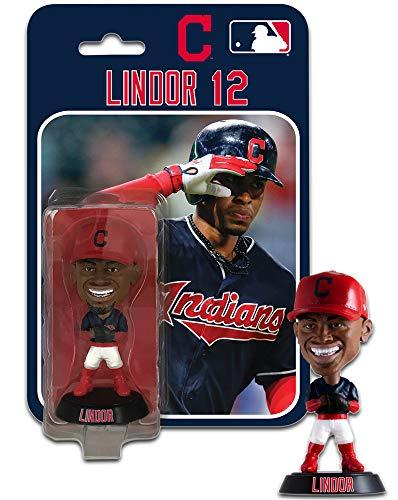 SP Images Francisco Lindor Cleveland Indians Imports Dragon Bobblehead Figure