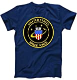 United States Space Force USSF Classic Logo T-Shirt Navy 3XL