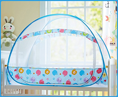 CdyBox-Portable-Baby-Mosquito-Net-Curtains-Bed-Tent-Yurt-Playhouse-with-Frame-Fits-Crib-Cot