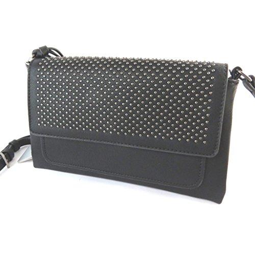 Bag designer Lulu Castagnettecostellata nero - 24x15x4 cm.