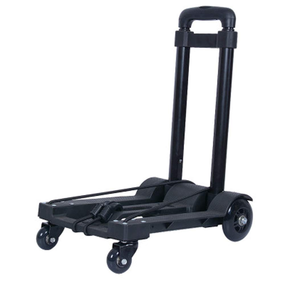 Luggage cart, folding trolley car, portable trailer, household trolley, universal trolley, maximum load 50kg by SHYYL