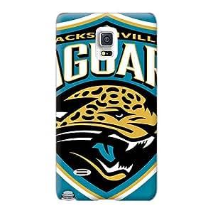 New HLJ521GBFL Jacksonville Jaguars Skin Case Cover Shatterproof Case For Sumsang Galaxy Note 4