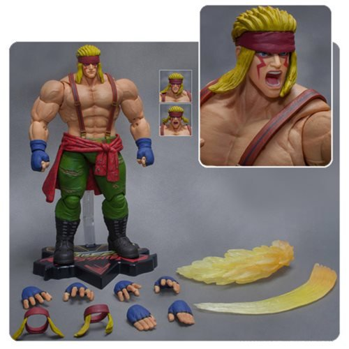 Storm Collectibles Street Fighter V Alex 1:12 1/12 Scale Action Figure