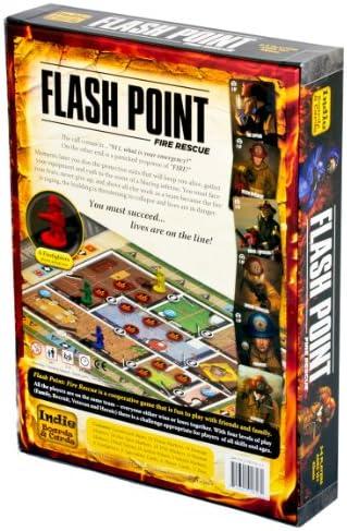 Flash Point - Fire Rescue, Gioco da Tavolo, seconda Edizione [Importato da UK]