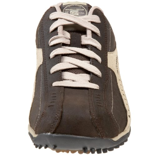Skechers Sport Mens Urbancleat Springfield Lace Up Chocolate/Taupe Rd5fyM