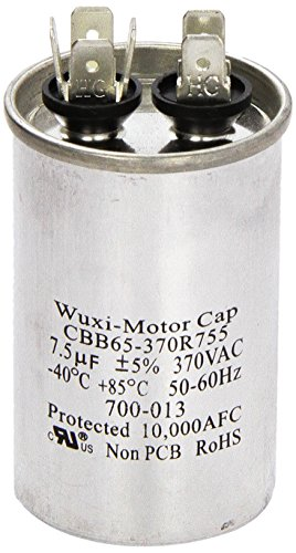 Pentair 473154 370-Volt 7.5 MFD 3 Phase Capacitor Replacement Pool and Spa Heat Pump