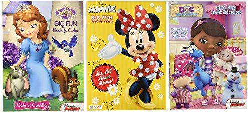 Doc McStuffins Party Supplies 3 Books with Stickers and Crayons Disney Junior Doc McStuffins Coloring Book Super Set