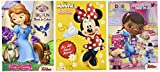 Disney® Coloring and Activity Book Assortment; Minnie Mouse, Princess Sofia, Doc Mcstuffins (3 Books ~ 96 Pgs Each)