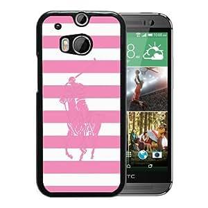 Lauren Ralph Lauren 04 Black New Customized Design HTC ONE M8 Case