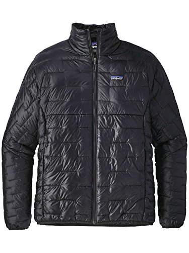 Patagonia Men's Micro Puff Jacket Black Size M -