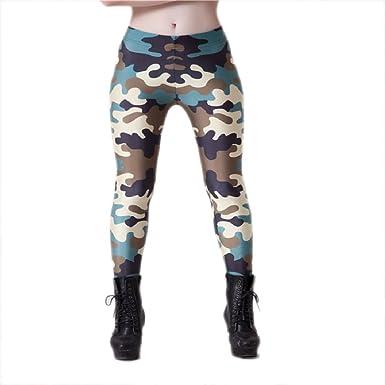 7579765658de1 Punk Harajuku Leggings Camouflage Leggings Brazilian Soldier Printed Bottom