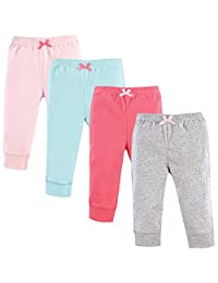 Luvable Friends womens Baby 3 Pack Tapered Ankle Pant